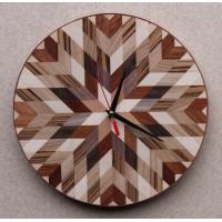 """Часы из массива дерева """"Мозаика"""""""