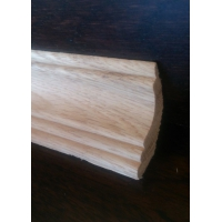 ПЛИНТУС МАССИВНЫЙ  «PAPA CARLO» (3+2) 53мм